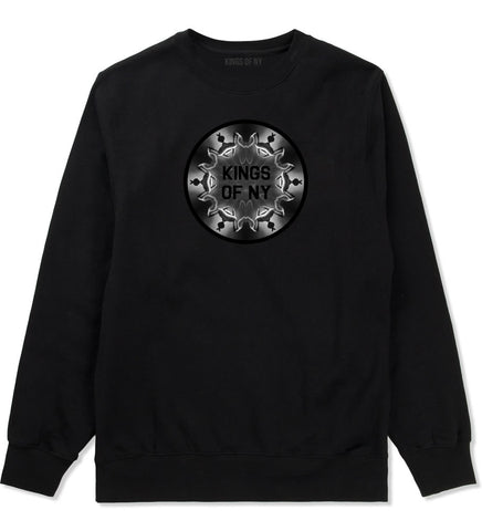 Pass That Blunt Crewneck Sweatshirt in Black By Kings Of NY
