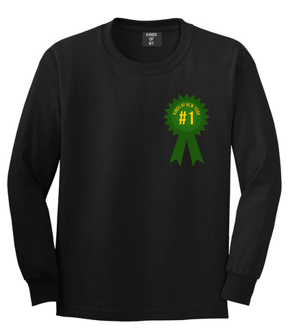Grand Prize Champions Long Sleeve T-Shirt in Black