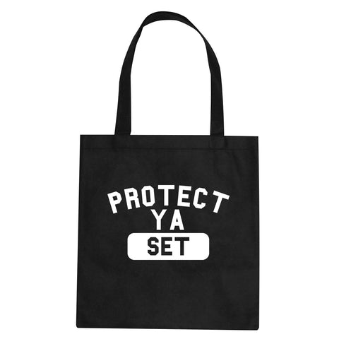 Protect Ya Set Neck Tote Bag By Kings Of NY