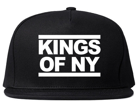 Kings Of NY Run DMC Logo Style Snapback Hat By Kings Of NY