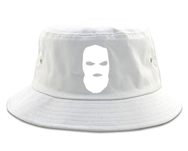 Ski Mask Way Robber Chest Logo Bucket Hat by Kings Of NY – KINGS OF NY 1ec2391a62d