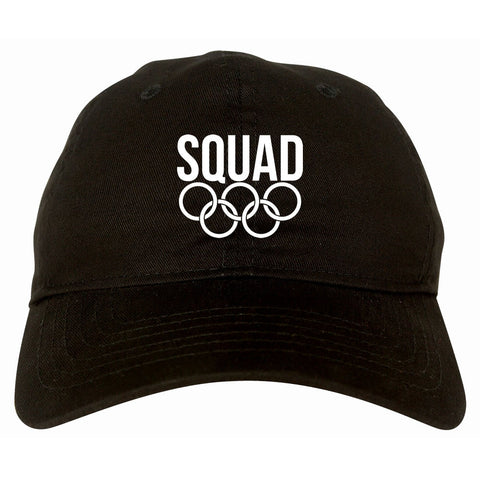Squad Olympic Rings Logo Dad Hat