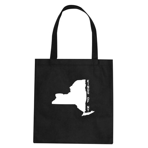 New York State Shape Tote Bag By Kings Of NY