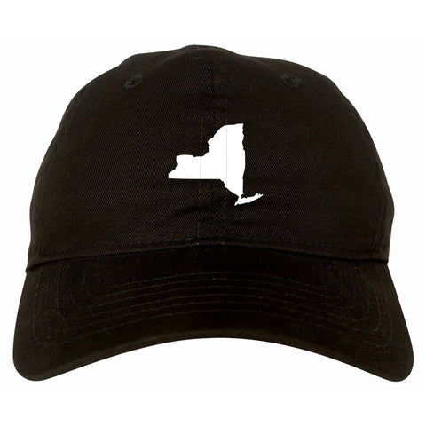 New York State Shape Dad Hat By Kings Of NY