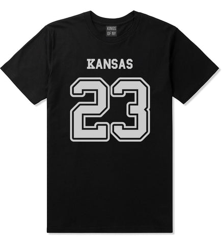 Sport Style Kansas 23 Team State Jersey Mens T-Shirt By Kings Of NY