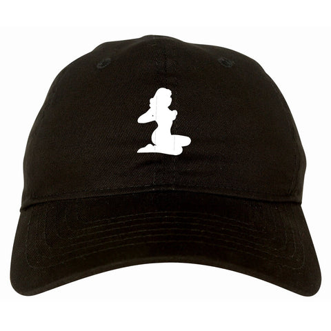 Stripper Girl Dad Hat Cap by Kings Of NY