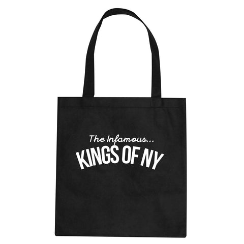The Infamous Kings Of NY Tote Bag By Kings Of NY