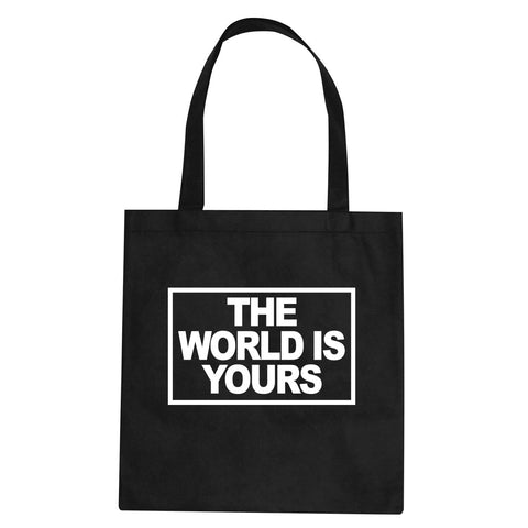 The World Is Yours Tote Bag By Kings Of NY
