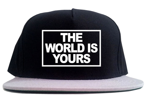 The World Is Yours 2 Tone Snapback Hat By Kings Of NY