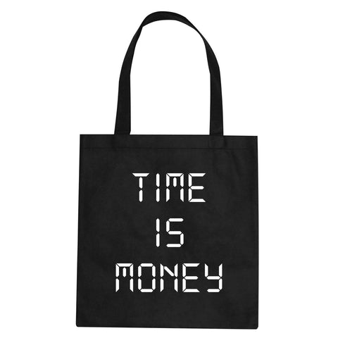 Time Is Money Tote Bag By Kings Of NY