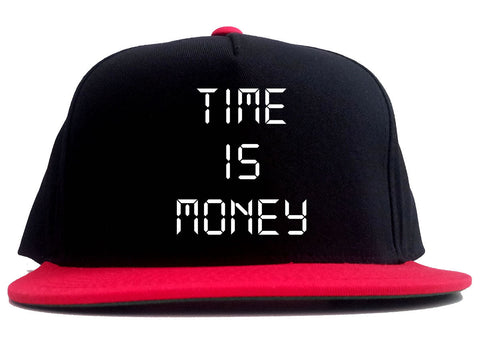 Time Is Money 2 Tone Snapback Hat By Kings Of NY