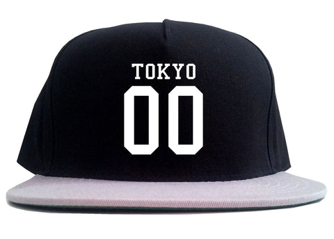 Tokyo Team 00 Jersey Japan 2 Tone Snapback Hat By Kings Of NY
