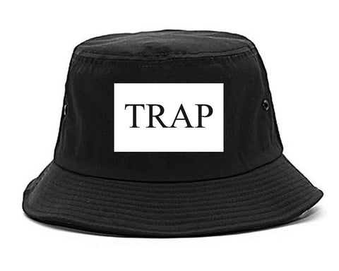 Trap Rectangle Logo Bucket Hat By Kings Of NY