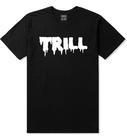 Trill Blood New York Bx Been Style Fashion Boys Kids T-Shirt In Black by Kings Of NY