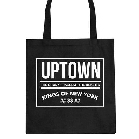 Uptown Bronx Harlem Washington Heights Tote Bag by Kings Of NY