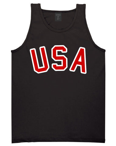 Team USA Olympics 2016 Tank Top in Black