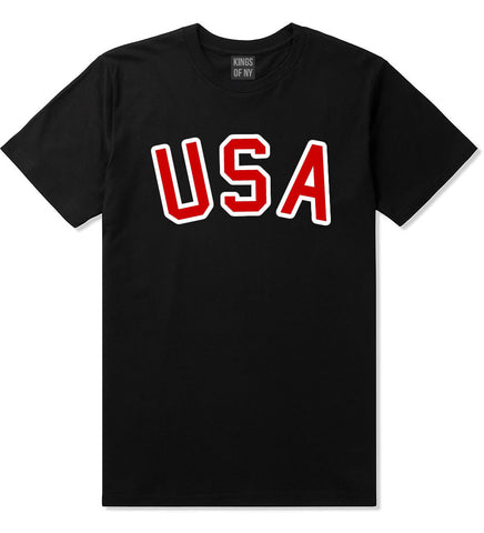 Team USA Olympics 2016 T-Shirt in Black