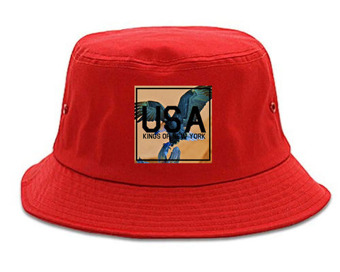 USA Bald Eagle America Bucket Hat by Kings Of NY – KINGS OF NY f575808a58b