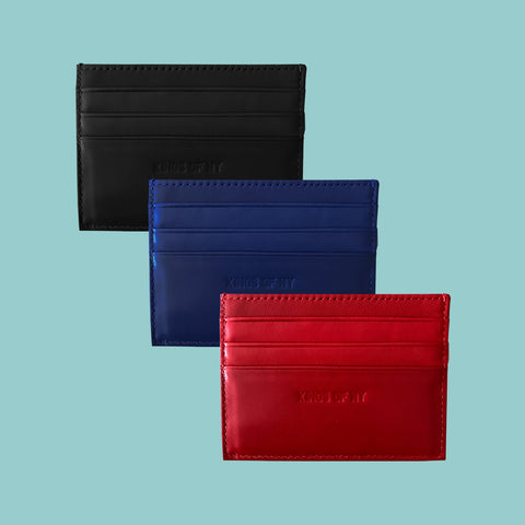 Kings Of NY Smooth Card Holder Wallet (3 Colors)