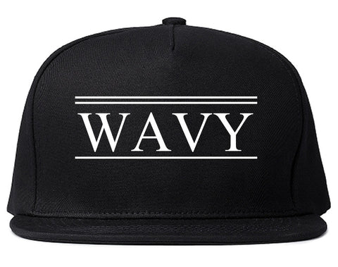Wavy Harlem Snapback Hat By Kings Of NY