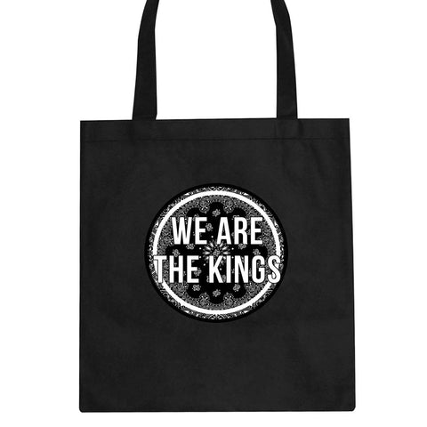 We Are The Kings Bandana Print Tote Bag by Kings Of NY