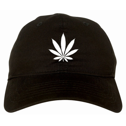 Weed Leaf Marijuana Dad Hat Cap by Kings Of NY