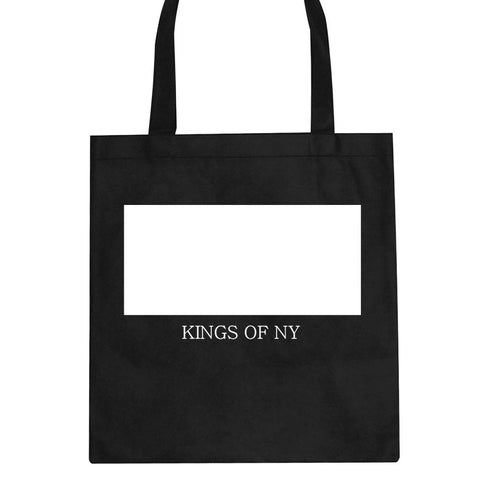 White Box Tote Bag by Kings Of NY