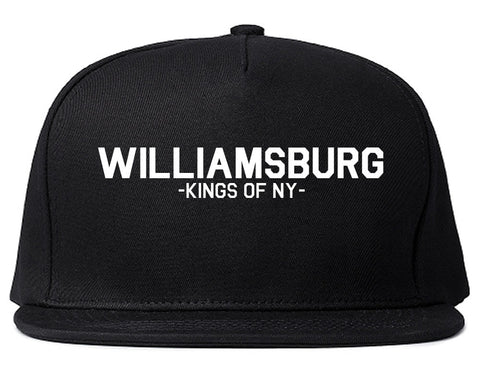 Williamsburg Brooklyn Kings Of NY Snapback Hat Cap