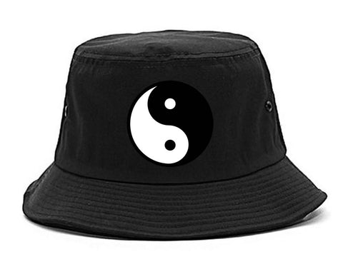 Yin and Yang Chest Graphic Bucket Hat Cap