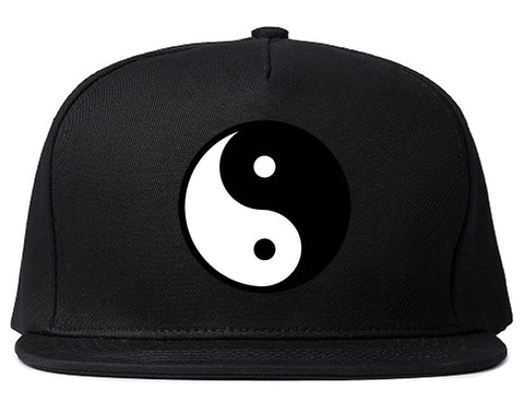 Yin and Yang Chest Graphic snapback Hat Cap