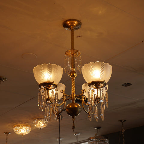 Pipe-Mounting a Chandelier