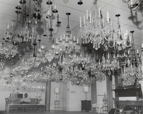Newly opened chandelier showroom on Hwy 14