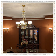 Whitaker 4 with matching sconces