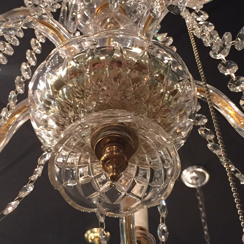 Removing the Bottom of Our Crystal Chandeliers