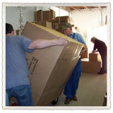 All cartons are packed so that they can be moved without worry.