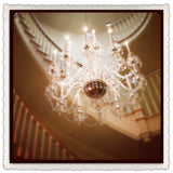 Large Crystal Chandelier for Foyer.