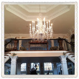 Large Foyer Crystal Chandelier