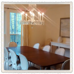 Custom Crystal Chandelier