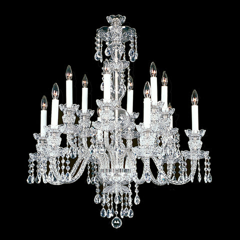 Crystal Chandelier Medium Durham with Swarovski Crystal