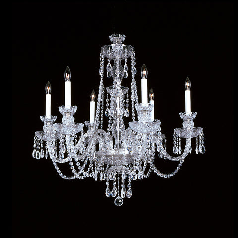 Crystal Chandelier 6-R-10L with Swarovski