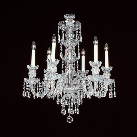 Crystal Chandelier 6-R-8NF with Swarovski
