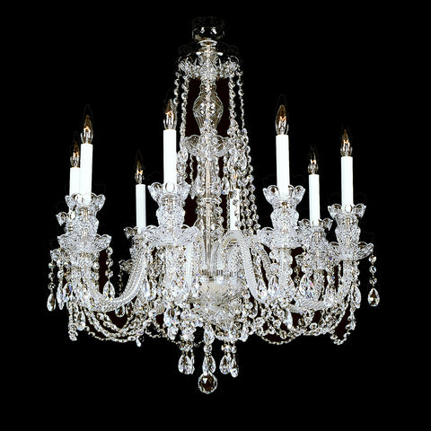 8 Light Crystal Chandelier 8-R-10 FA