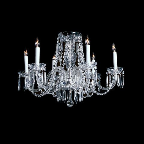 6 light Crystal Chandelier Arthur