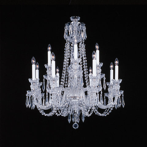 12 light Crystal Chandelier Charlotte
