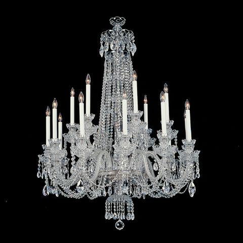 Crystal Chandelier Franklin with Swarovski