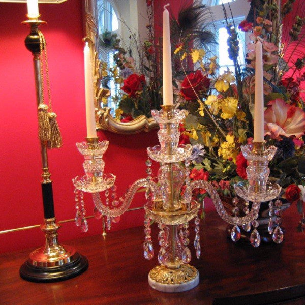3mb Crystal Candelabra With Swarovski King S Chandelier Co