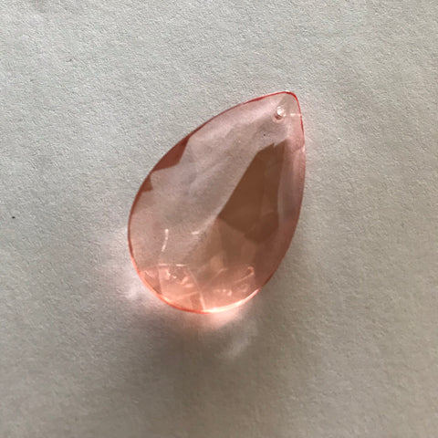 "Peach - Pink Half-Cut Almond, 2"" (50mm)"