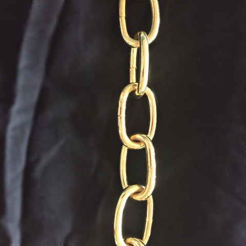Heavy Brass chain for chandelier