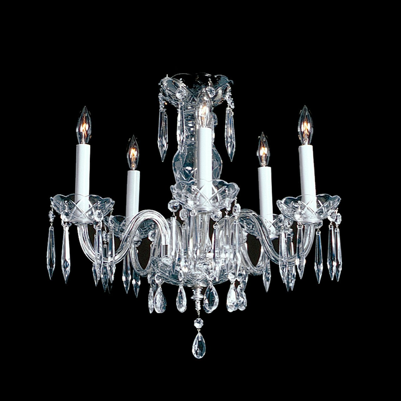Mabel 5 light crystal chandelier 18 x 15 kings chandelier co 5 light small crystal chandelier mabel arubaitofo Images
