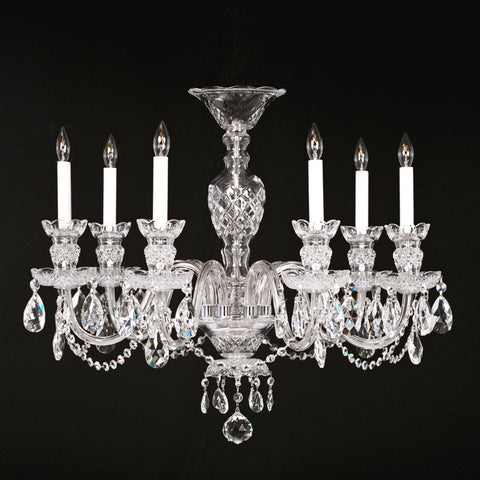 7 light Crystal Chandelier Chesapeake with Swarovski